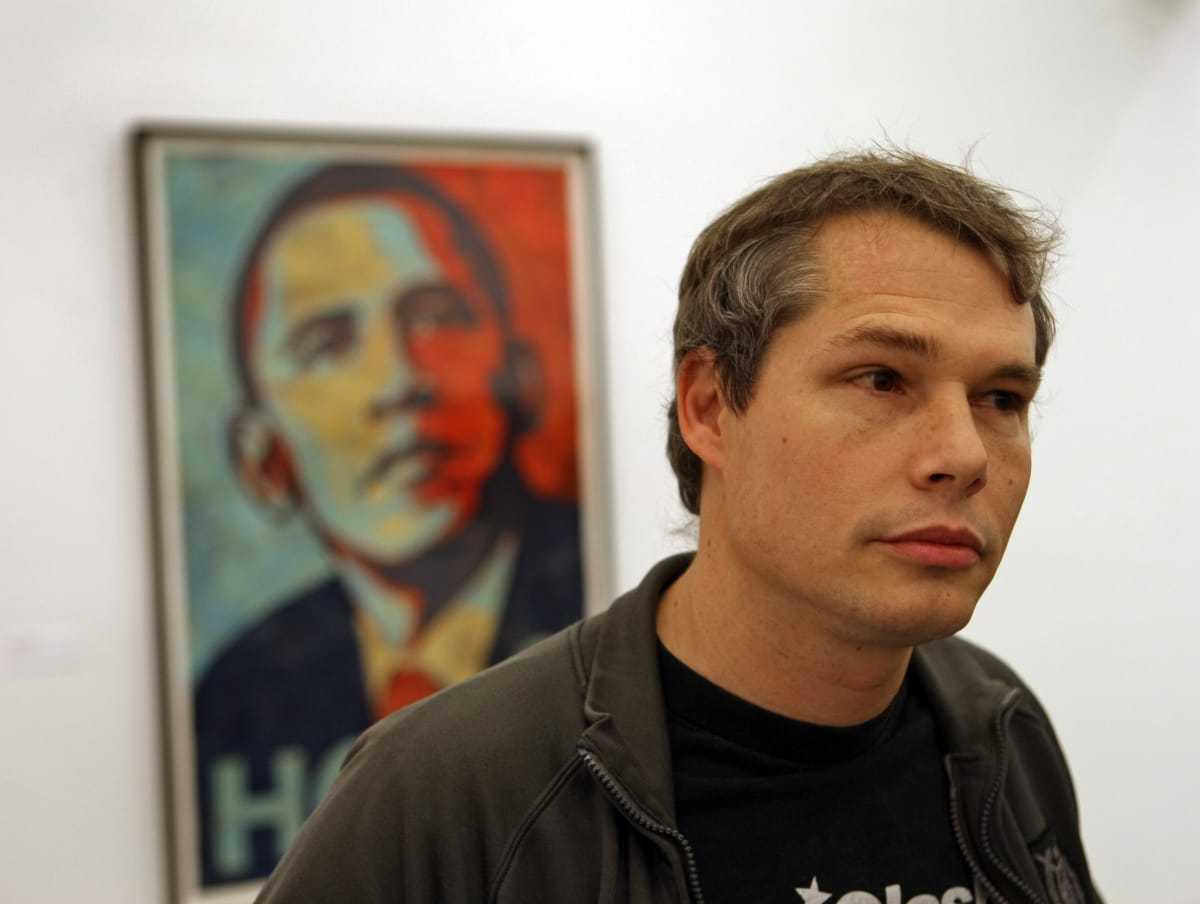 Obey's Shepard Fairey Has Only One Regret About His Obama 'HOPE' Poster