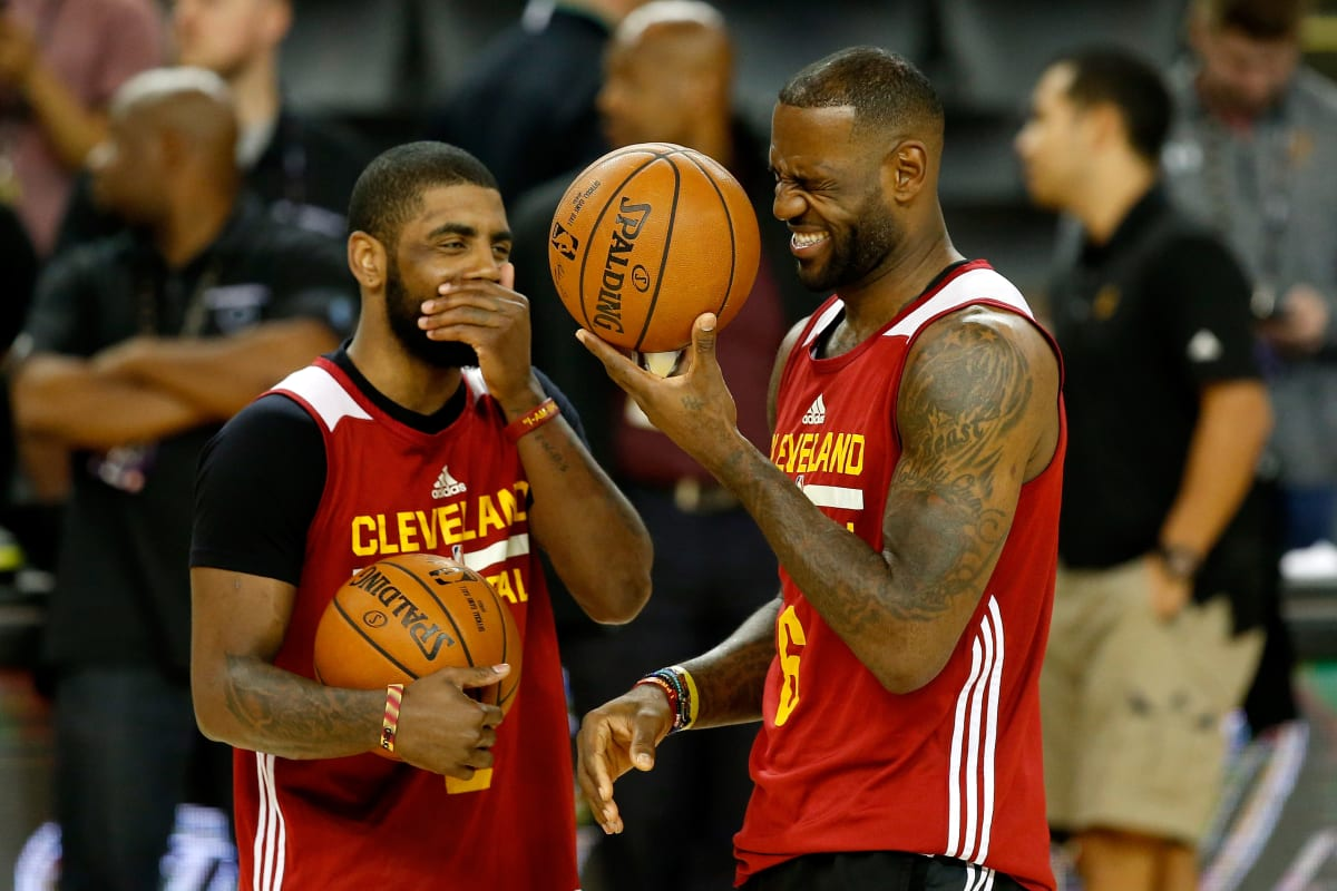70b0ce8a823 A History of LeBron James and Kyrie Irving s Complicated Relationship