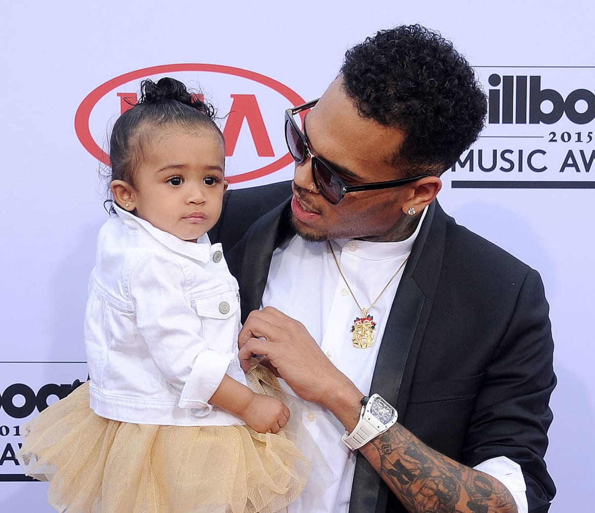 Chris Brown's 2-Year-Old Daughter Was Reportedly Present ...