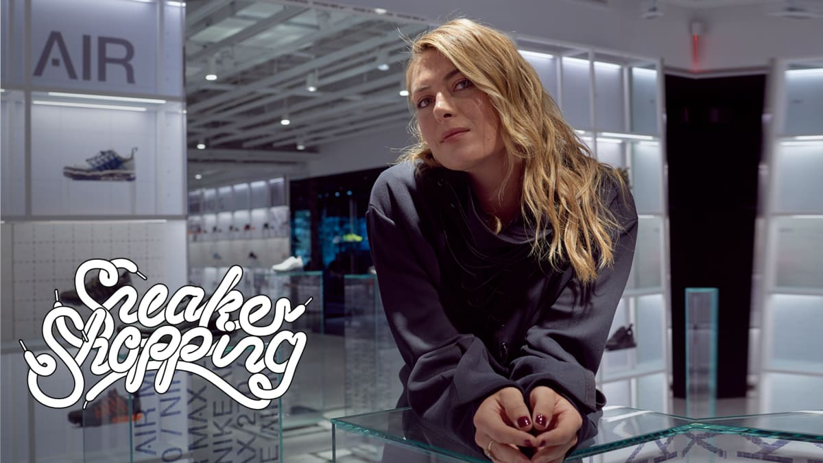 4a69e5dcecc Maria Sharapova Goes Sneaker Shopping With Complex