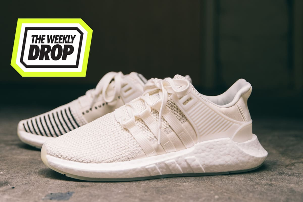 This Black And White adidas EQT Support 93/17 Is Now Up For Grabs