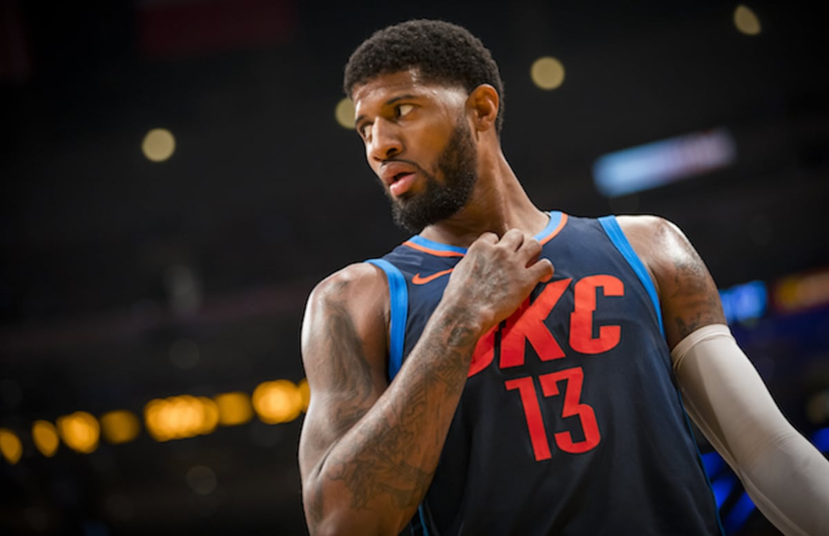 Paul George: Things Get Awkward When Paul George Doesn't Recognize