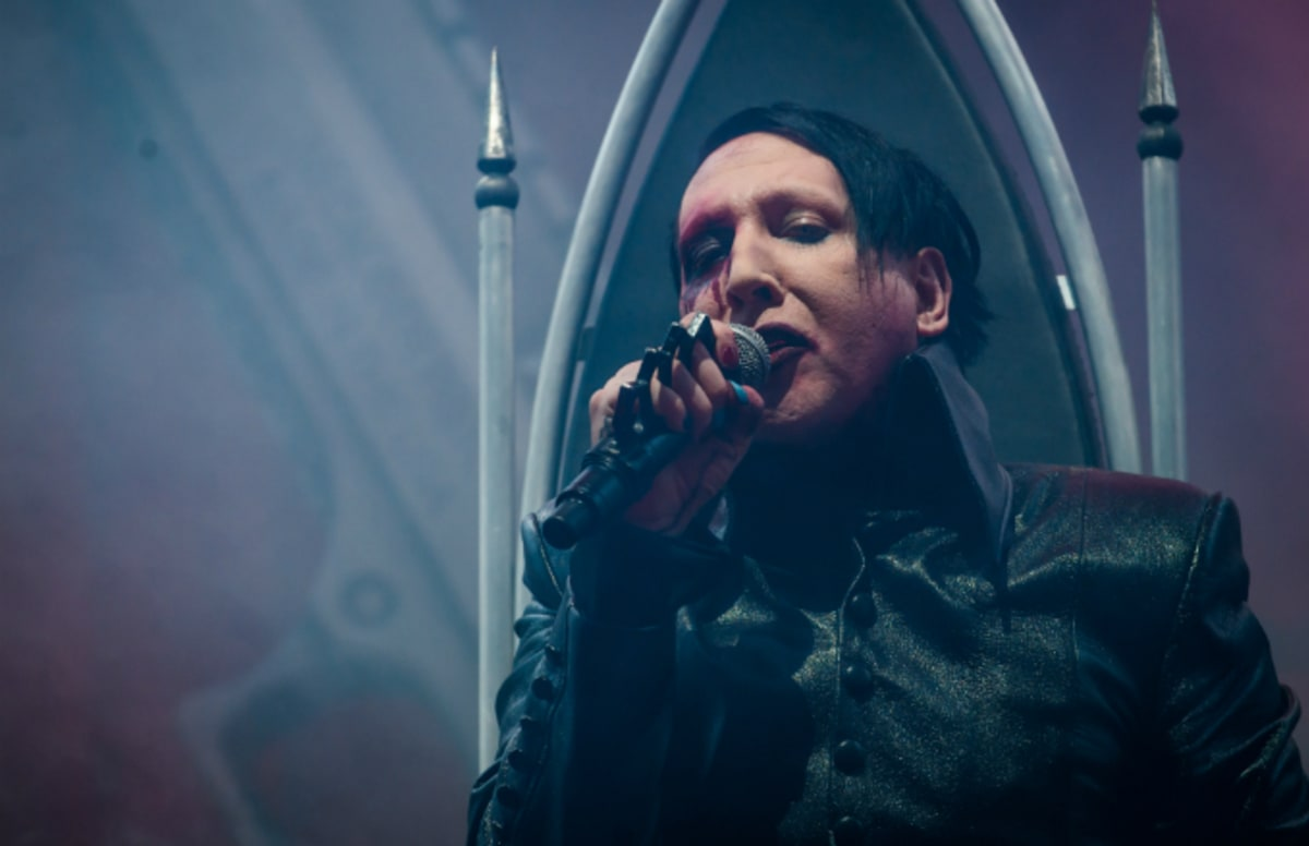 Marilyn Manson Delivered A Super Fcked Up Concert Even By His