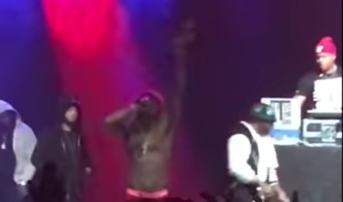 "Lil Wayne at His Recent Concert: ""F*ck Cash Money in They ..."
