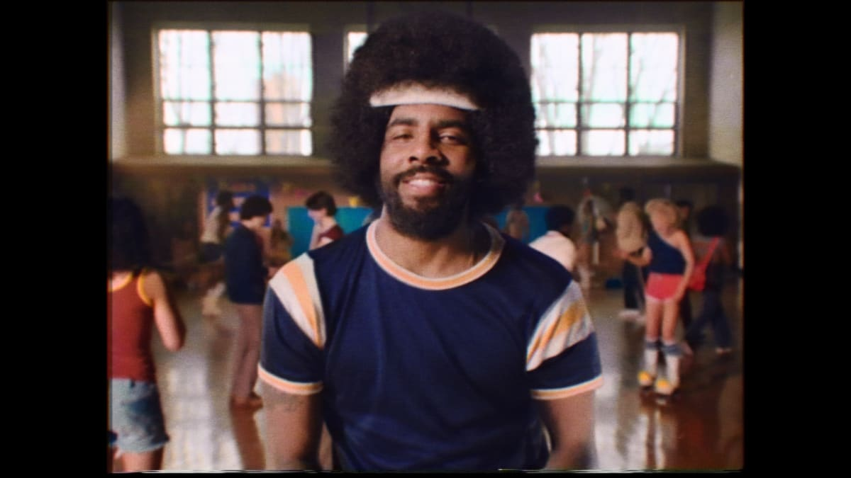 b475d564ebaf Kyrie Irving Turns Back the Clock in New Uncle Drew Spot