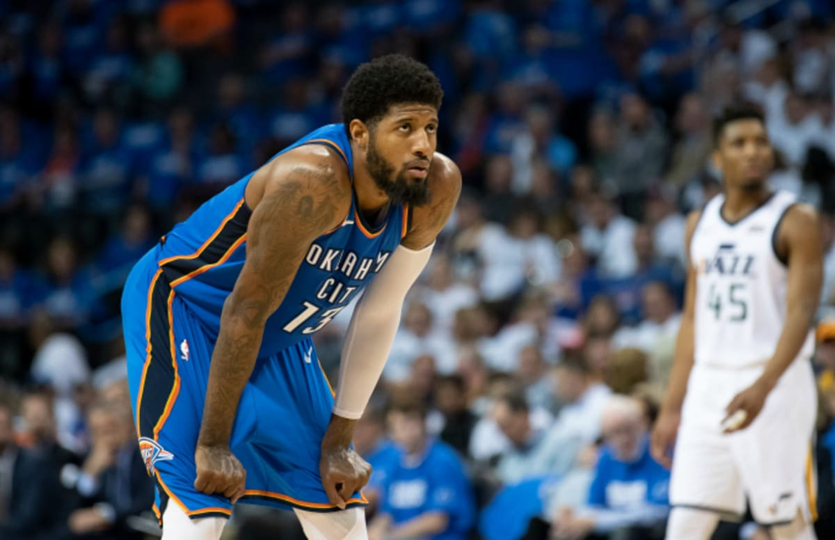 c8a00c0a62f1 Paul George Is  Gone  From Oklahoma City in Free Agency