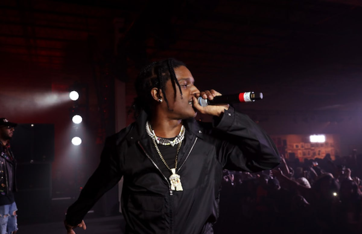 ASAP Rocky Previews Clip of New Track