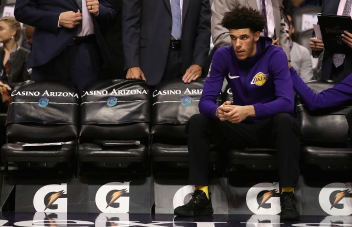 LaVar Ball Says Lakers' Record Is 'Raggedy' Because of Lonzo's Lack of Playing Time   Complex