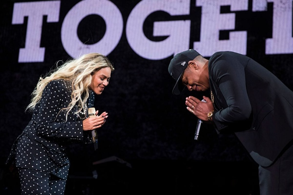 748c156b1 Jay Z and Beyoncé Might Have Their Post- 4 44   Lemonade  Tour Ready ...
