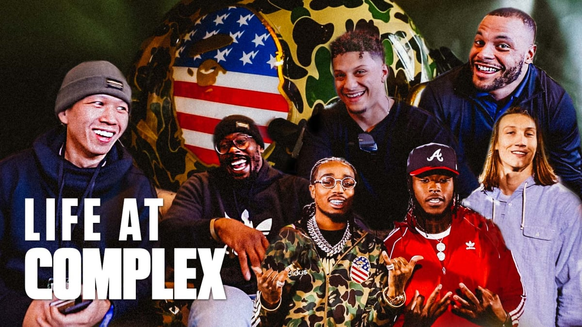 NFL Players Share Thoughts On Bape Superbowl Collab! | Life At Complex