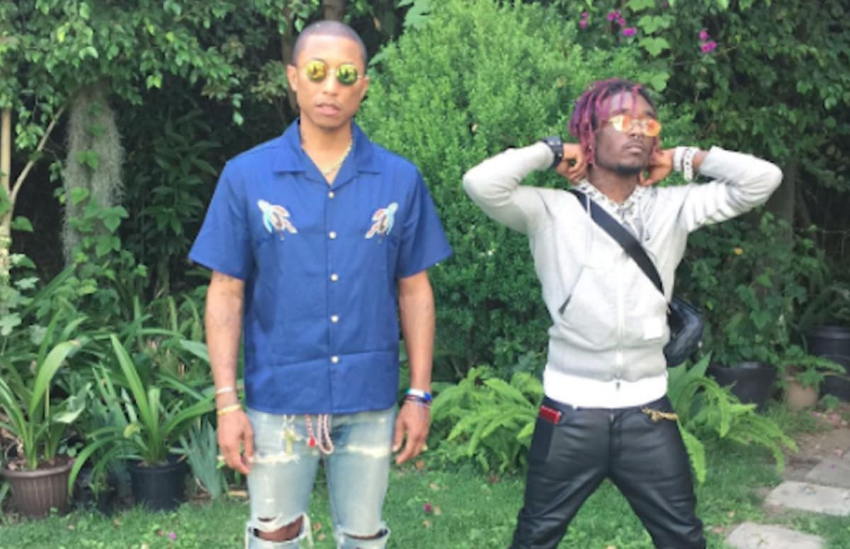 Lil Uzi Vert and Pharrell Discuss Their First Time Working Together on OTHERtone