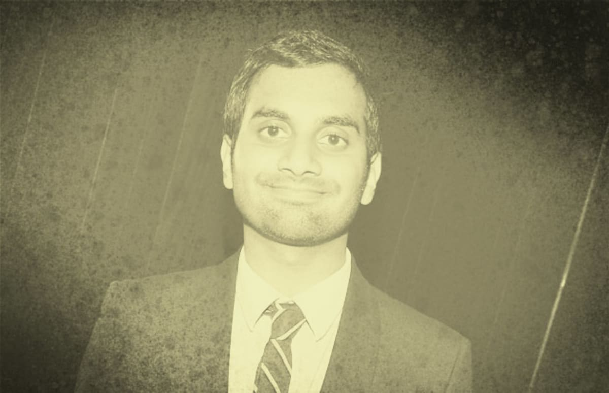 aziz ansari cousin college essay Anybody who has watched/heard any of aziz ansari's standup knows about his cousin harris are you really as chubby as he always says you are.
