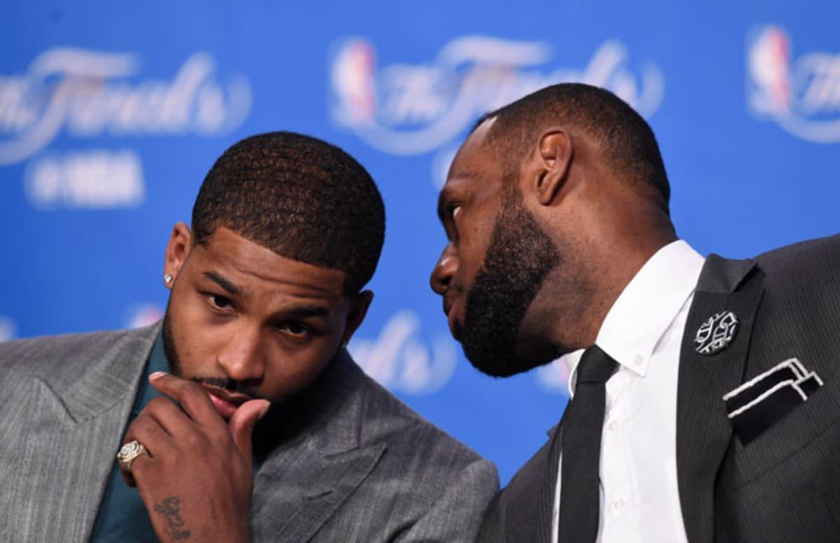 5697716c5c2d Did LeBron James Tell Tristan Thompson Not to Bring Khloe Kardashian Around  the Cavaliers