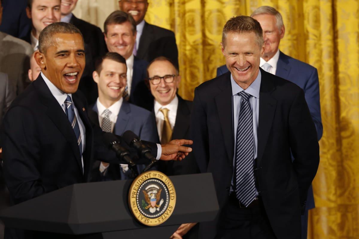 5f1ade3e805c3c Obama s Best Sports Trash Talking Moments