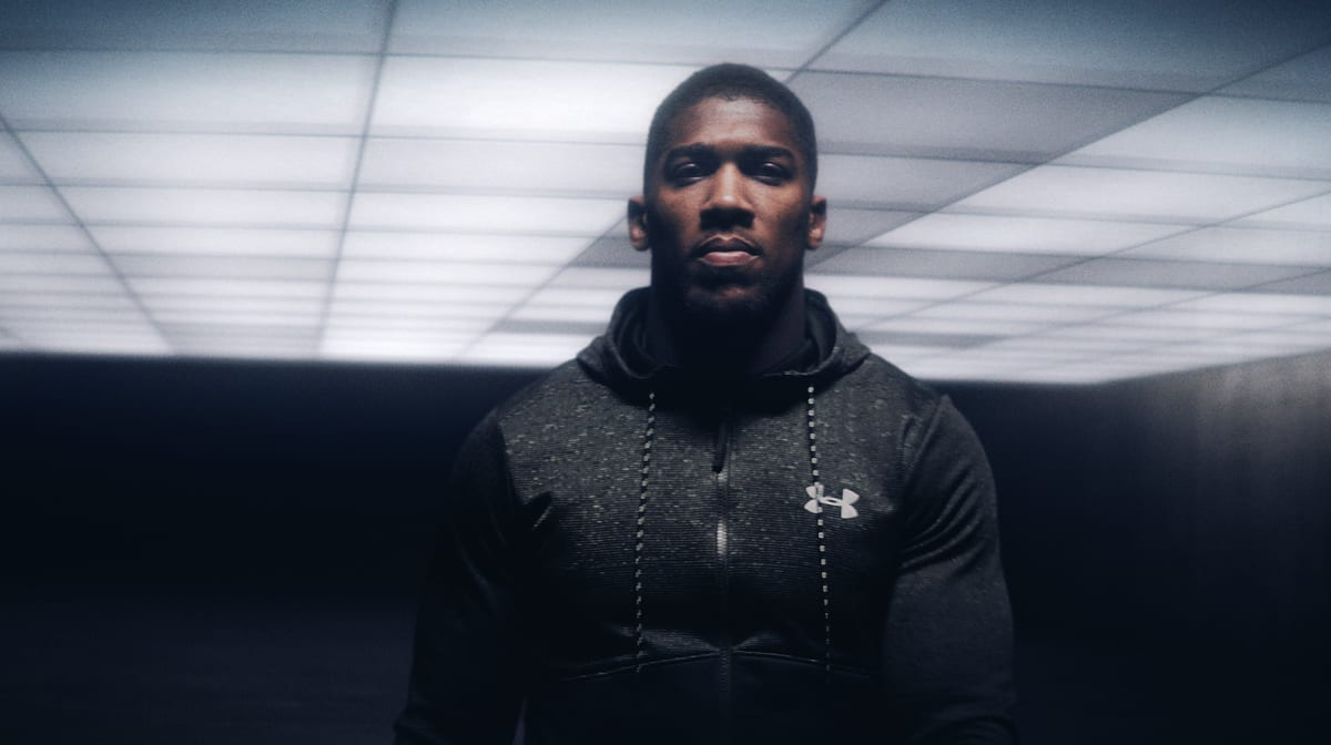 af0cc7f7438 Anthony Joshua Is Out to Inspire in Epic New Film from Under Armour ...