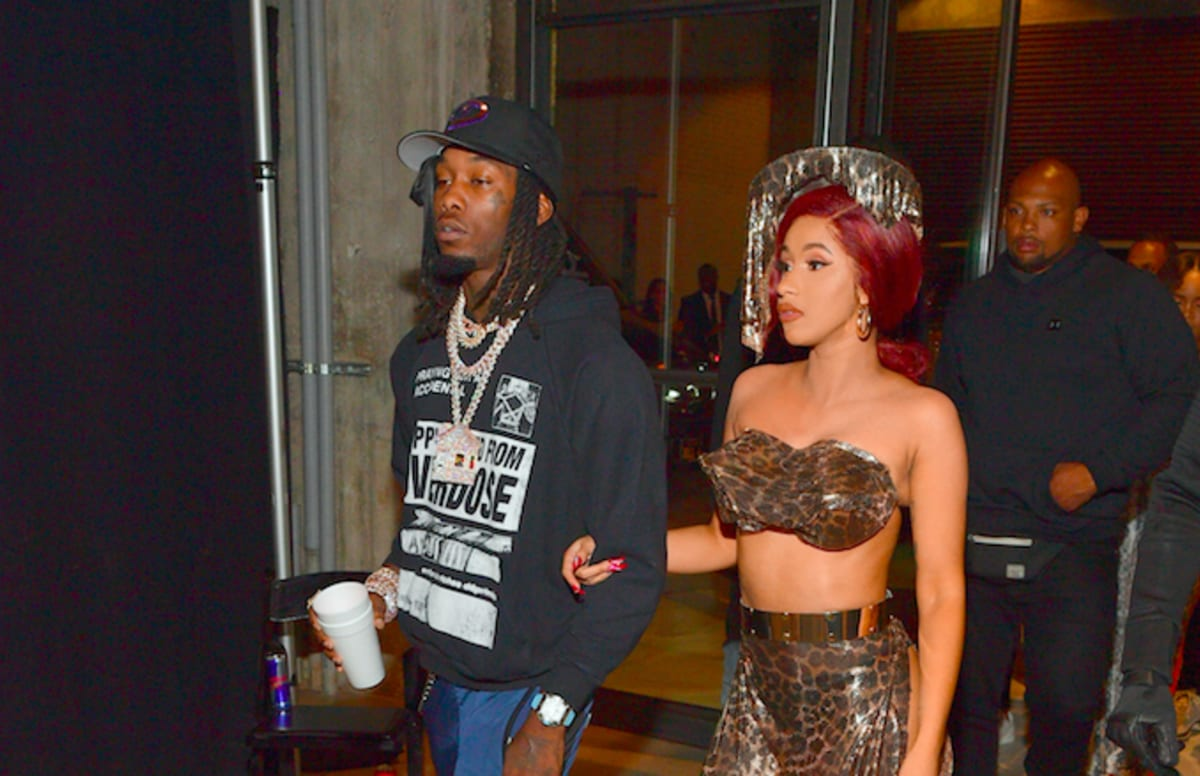 Cardi B Issues Rap Battle Challenge To Offset Complex