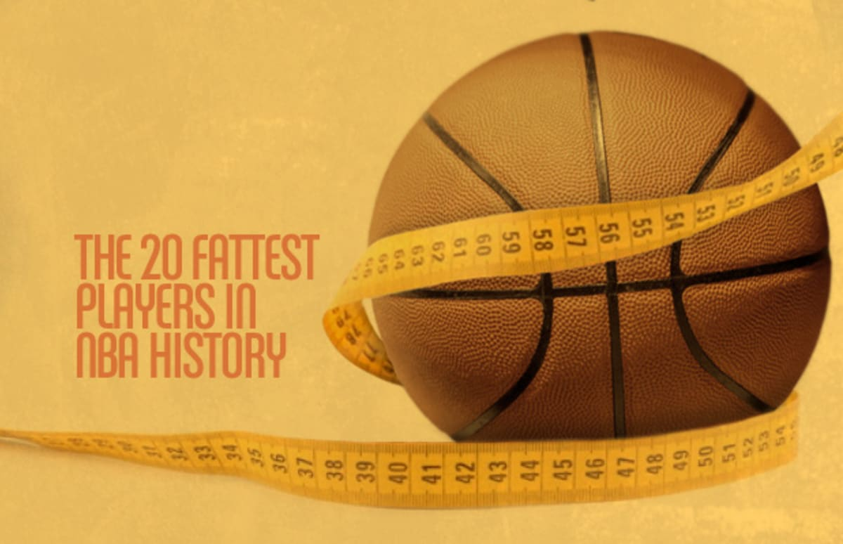 The 20 Fattest Players in NBA History   Complex