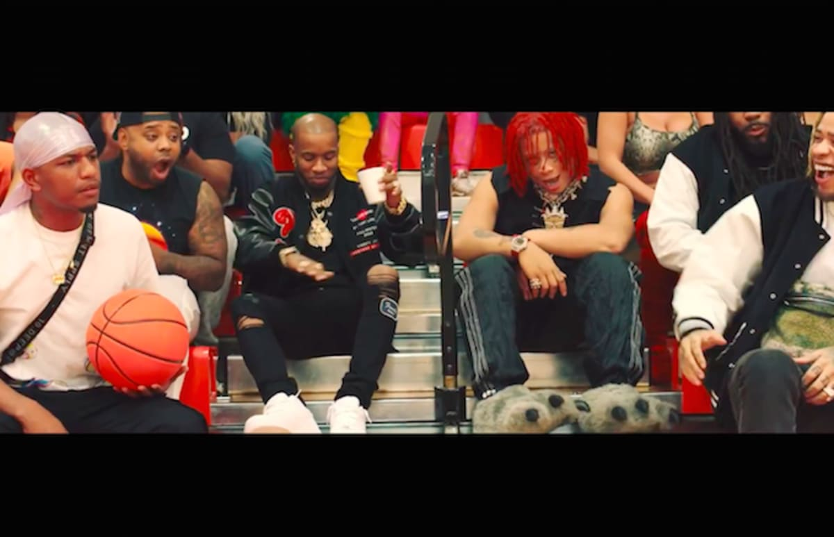 """Tory Lanez and Trippie Redd Host a Dodgeball Game in the Video for """"Ferris Wheel"""""""
