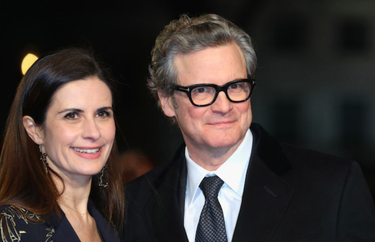 Colin Firth's Wife Rev...