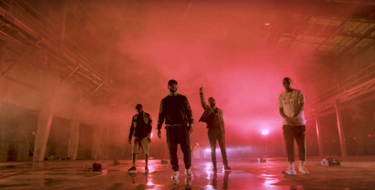 "Watch Royce da 5'9"", Pusha-T, Fabolous, and Jadakiss Stunt in ""Summer on Lock"" Video"