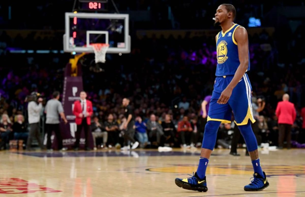 NBA Fans Lost Their Minds After Kevin Durant Got Posterized by 3 Lakers Players in 1 Half | Complex