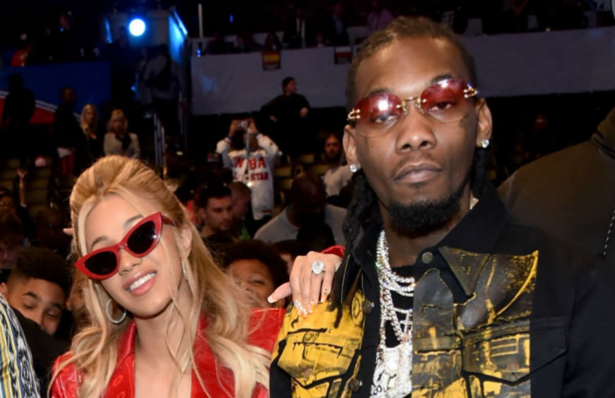 Is Cardi B S Offset Name Tattoo Real The Ink Is A Giant: Cardi B On Offset's Infidelity: 'I Want To Work Out My Sh