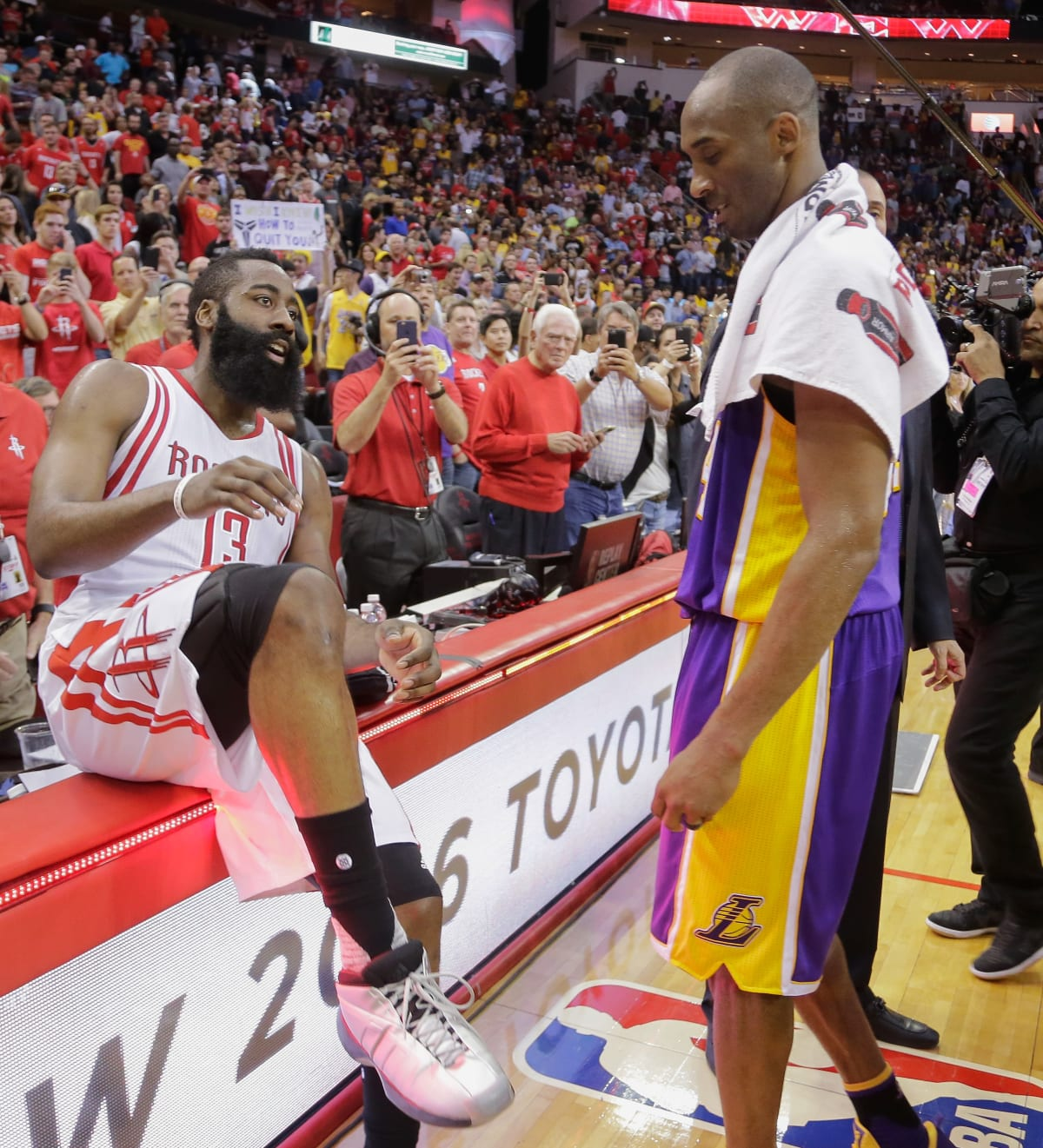 James Harden Basketball Camp: Here's Who Kobe Bryant Thinks Should Win The NBA MVP