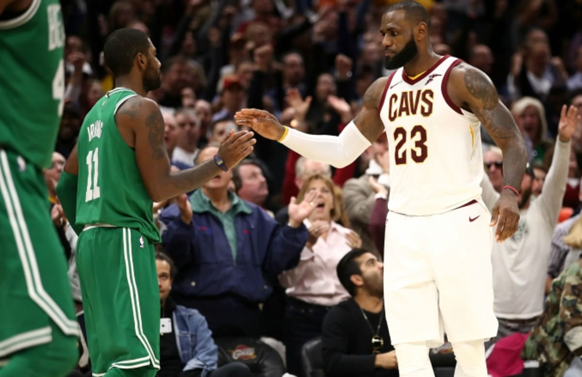 b788ee61f12 Kyrie Irving Briefly Addresses Relationship With LeBron James on  Kimmel