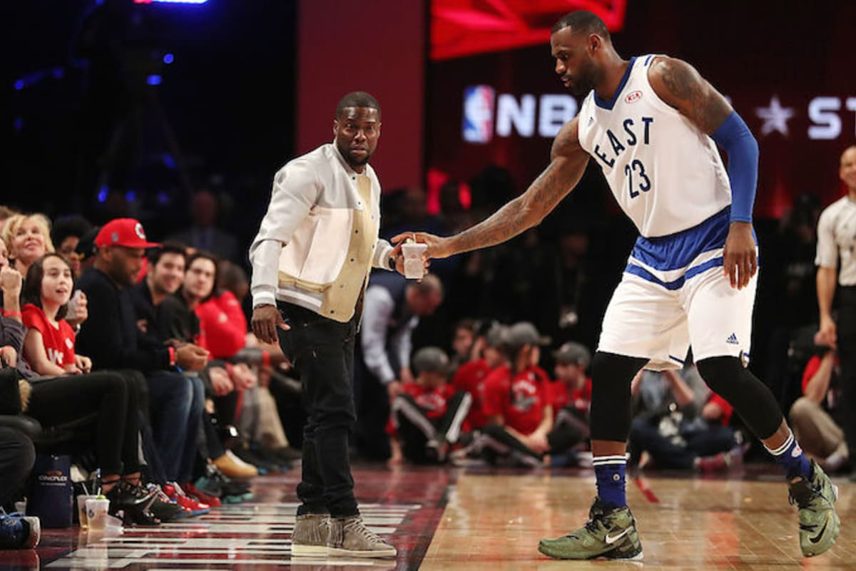 f454b193190 LeBron James Had a Hilarious Response to Kevin Hart Trying to Recruit Him  to the 76ers
