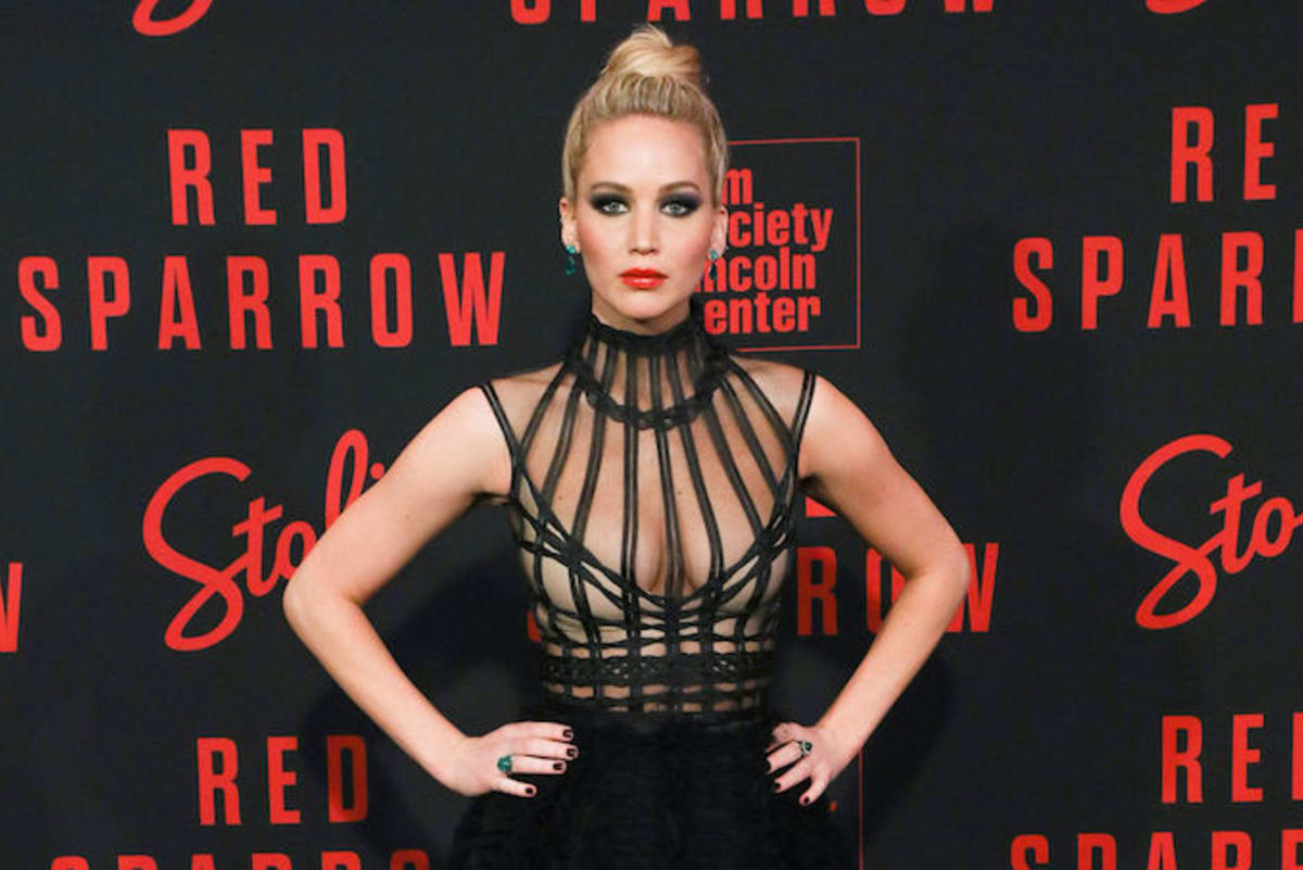 Jennifer Lawrence Says 'Red Sparrow' Nude Scenes 'Scared ...
