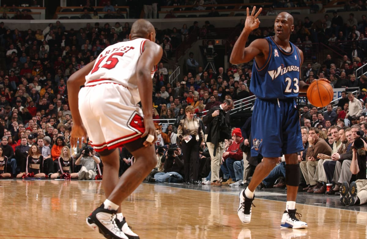 Will We Ever Love the Sneakers That Michael Jordan Wore on the Wizards?   Complex