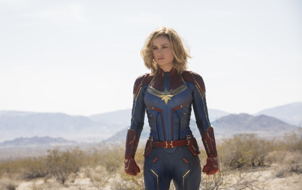Misogynists Swarming 'Captain Marvel' on Rotten Tomatoes Weeks Before Release