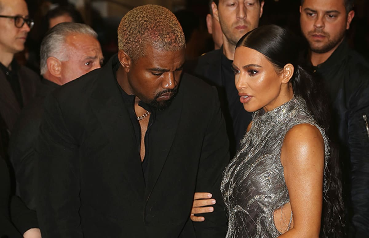 Kanye West Surprises Kim Kardashian With 112 Performance Over FaceTime