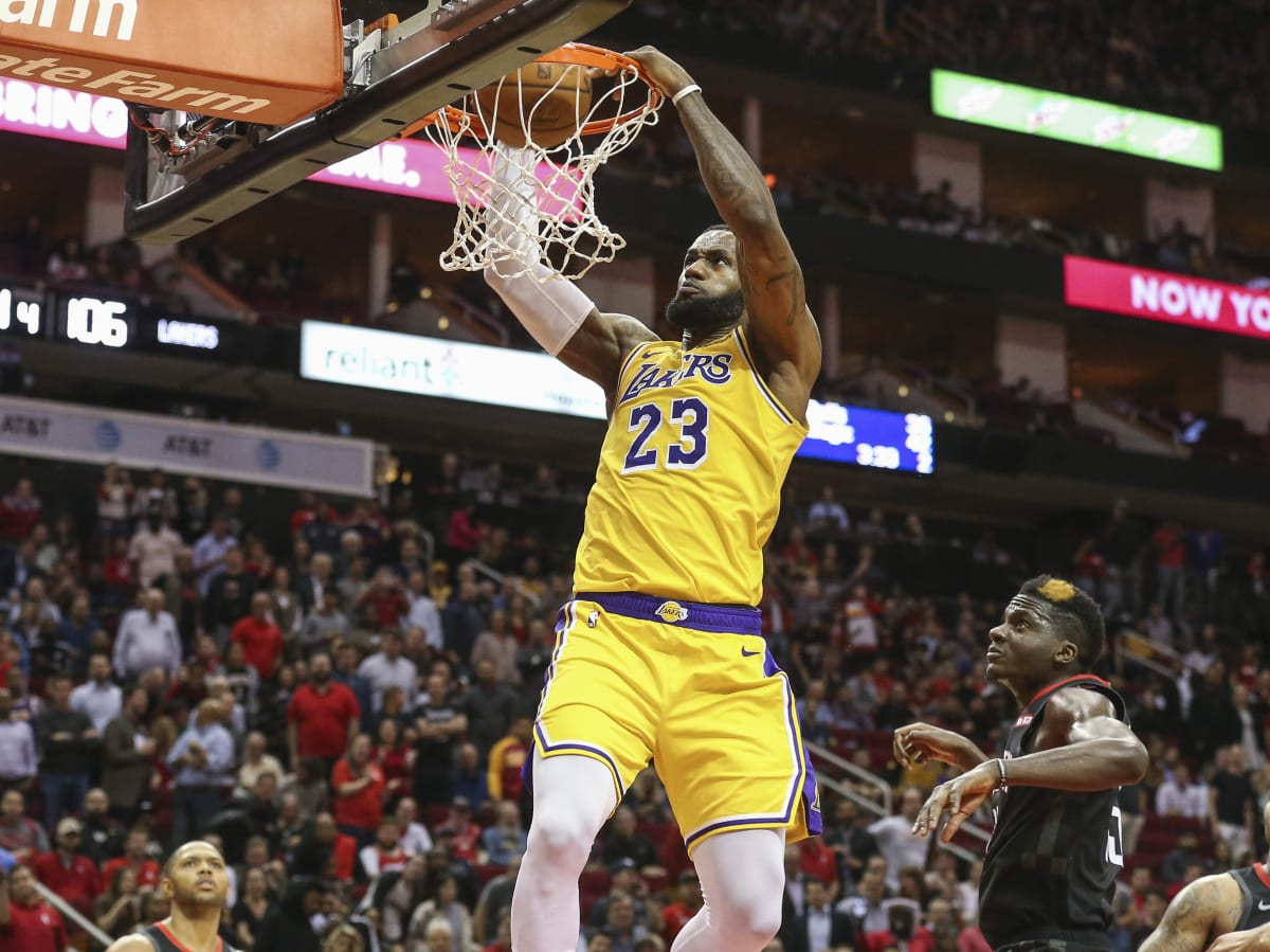 Lebron James Dunk Lakers: Why LeBron James Should Call Himself The GOAT