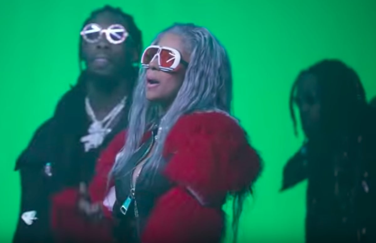 Nicki Minaj Fans Want To Know Why Shes Not In Motorsport Bts Video Complex