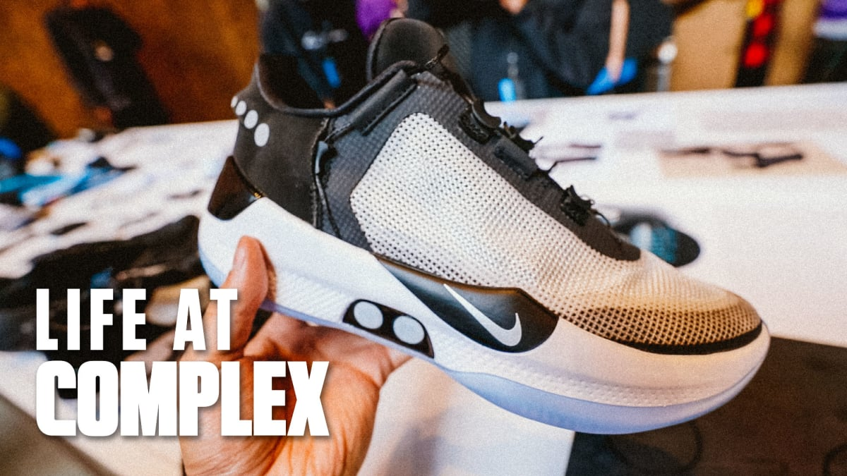Update: More Info On The Nike Adapt BB Sneaker | Life At Complex