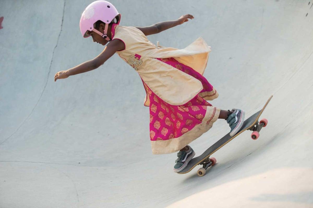 4de39c68e4 Vans Empower the Next Generation Through Skateboarding with  Girls Skate  India