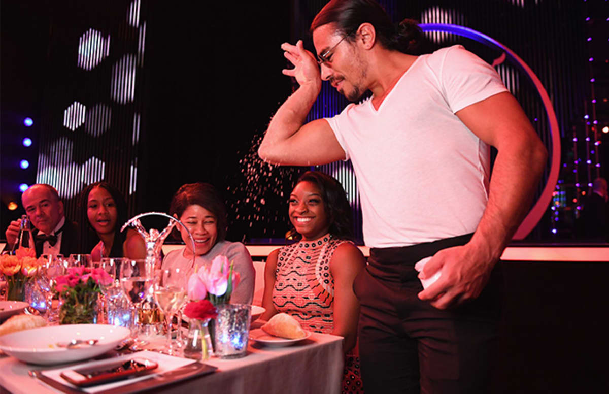 Car Show Miami >> Reviews Trash Salt Bae's New Restaurant, Calls His Food 'Bland and Boring' | Complex