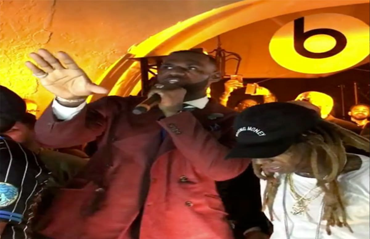 49eda5979ae Lil Wayne and the Hot Boys Reunited at Beats Party Hosted by LeBron James