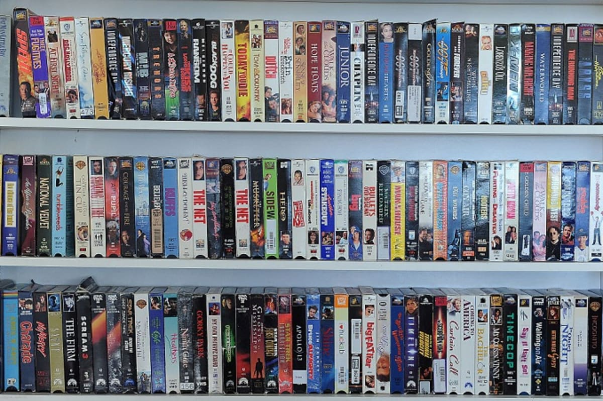 Cinema Chain Bringing Back Blockbuster-Style VHS Rentals for Free ...