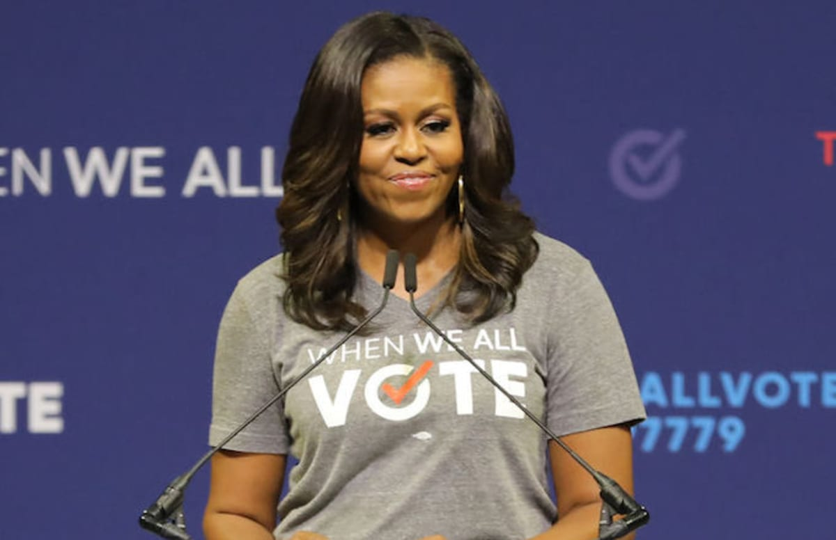 Michelle Obama Has the Perfect Response to the Backlash Against the MeToo Movement