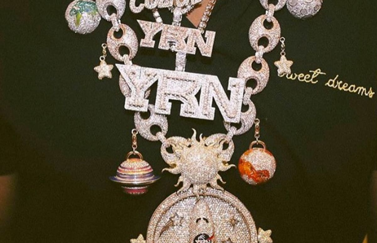 f32732b2b3 Migos  Takeoff May Have Dropped  500K on His Intergalactic Diamond Chain
