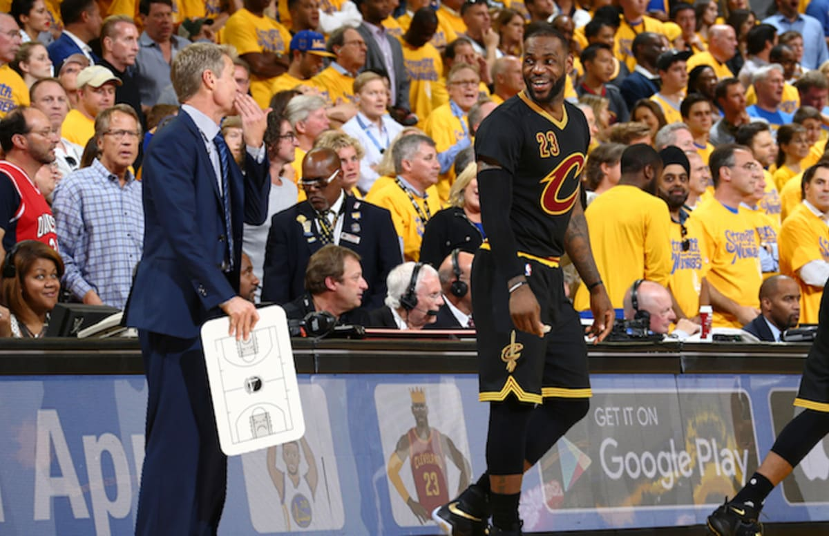 Steve Kerr Isn t Impressed by LeBron James  Memory  d86b64dd2