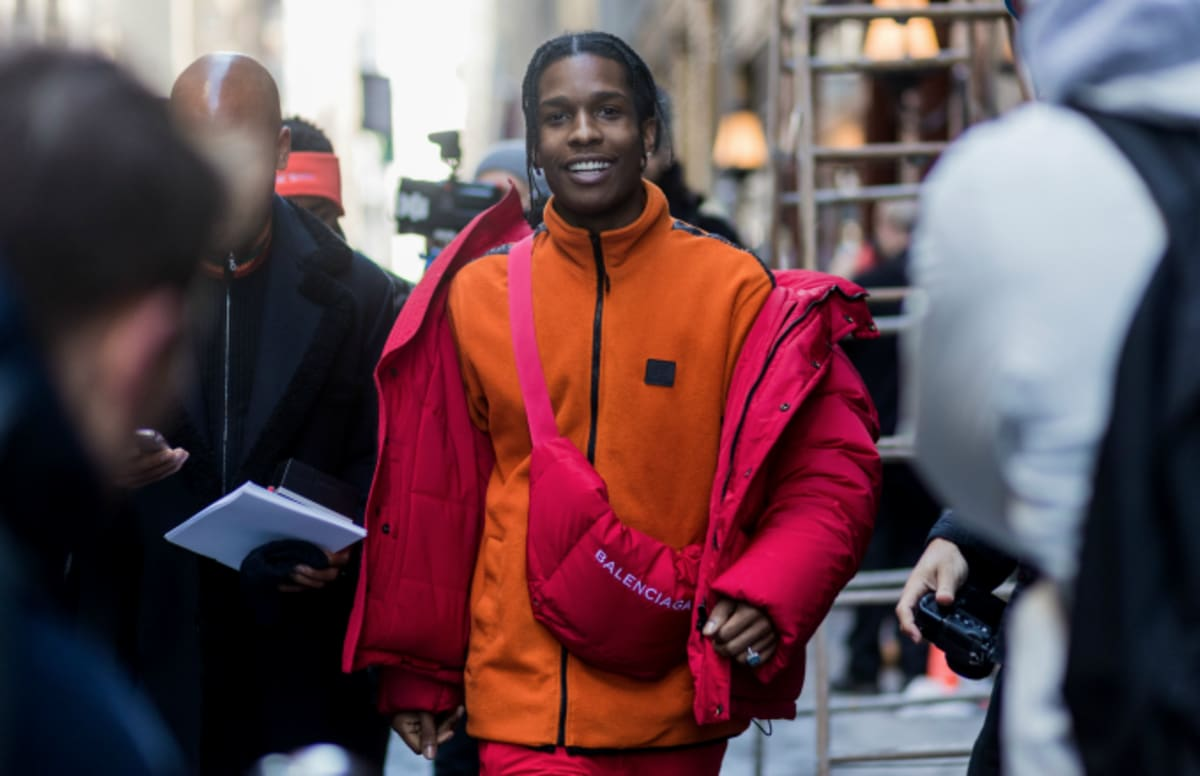 Watch Asap Rocky Throw Mic After His Set Was Reportedly