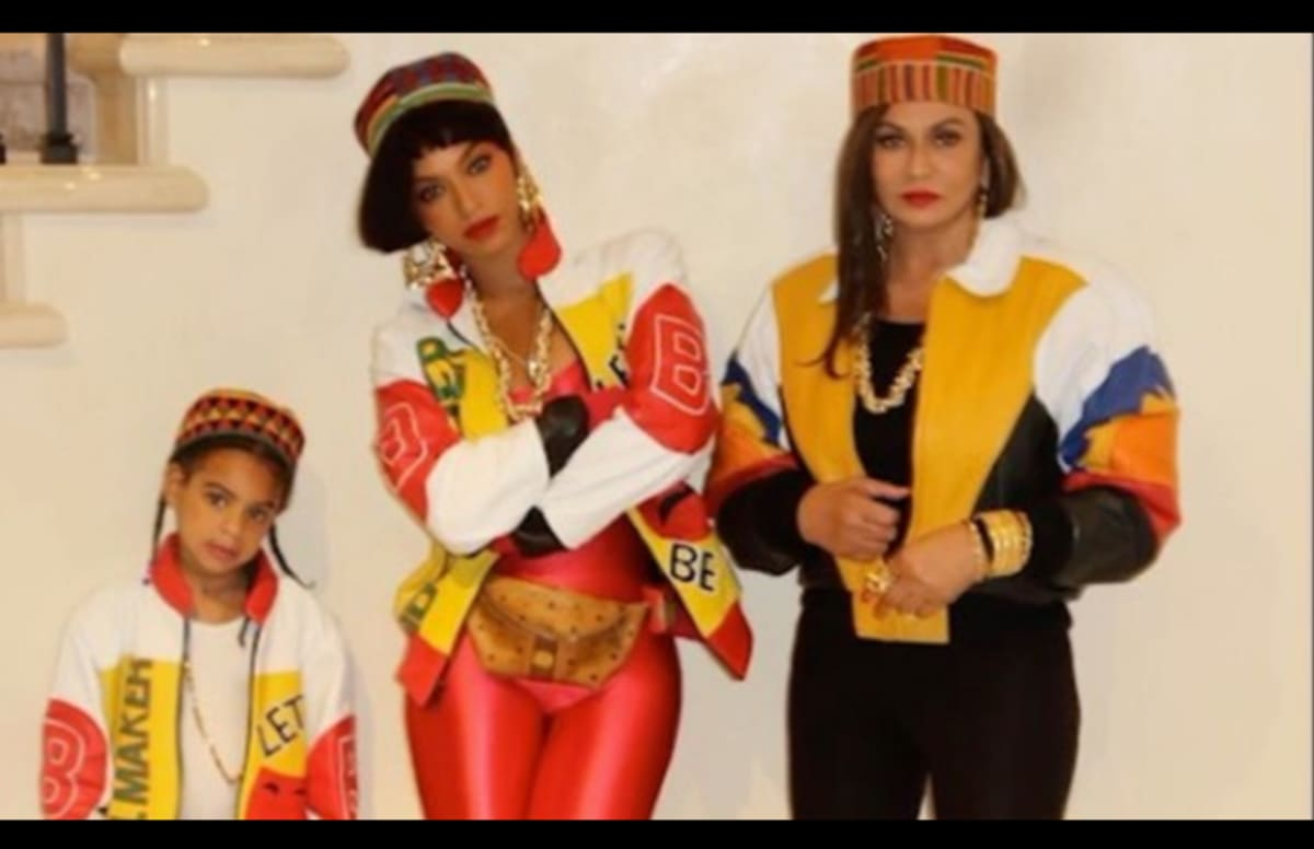 Beyoncé Teams Up With Daughter Blue Ivy and Mother Tina Knowles ...
