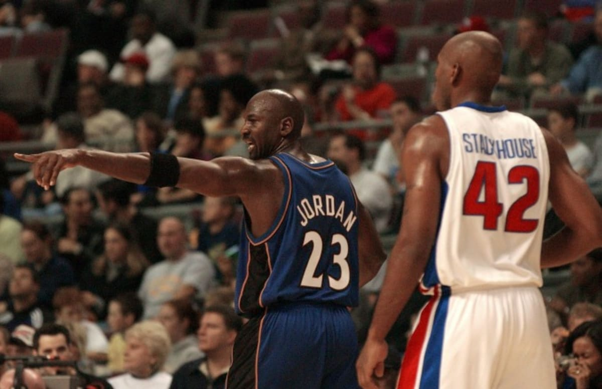 Jerry Stackhouse Shoots Down a Story About Michael Jordan Singing