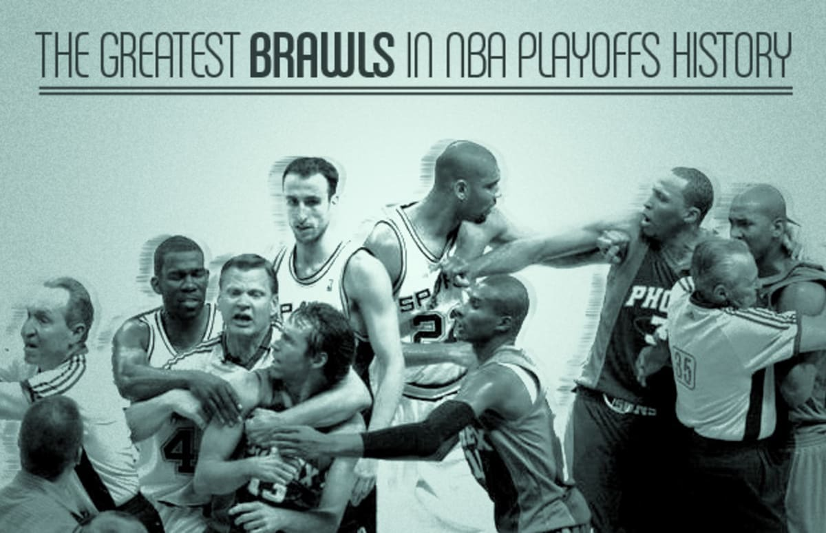 09efa2765db4 The Greatest Brawls in NBA Playoffs History