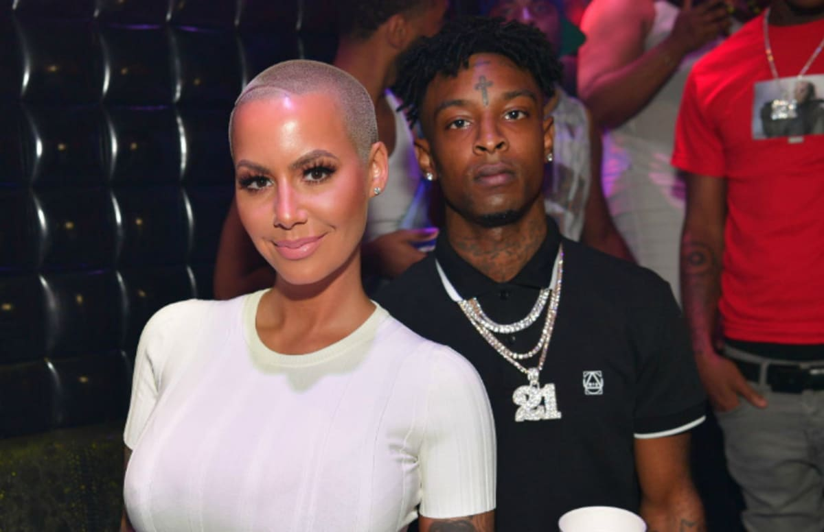 Who has amber rose dated in Australia