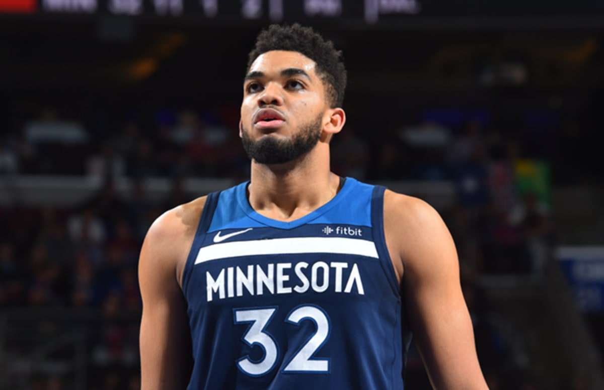 948d3c5d7e02 Karl-Anthony Towns Goes Off for 56 Points