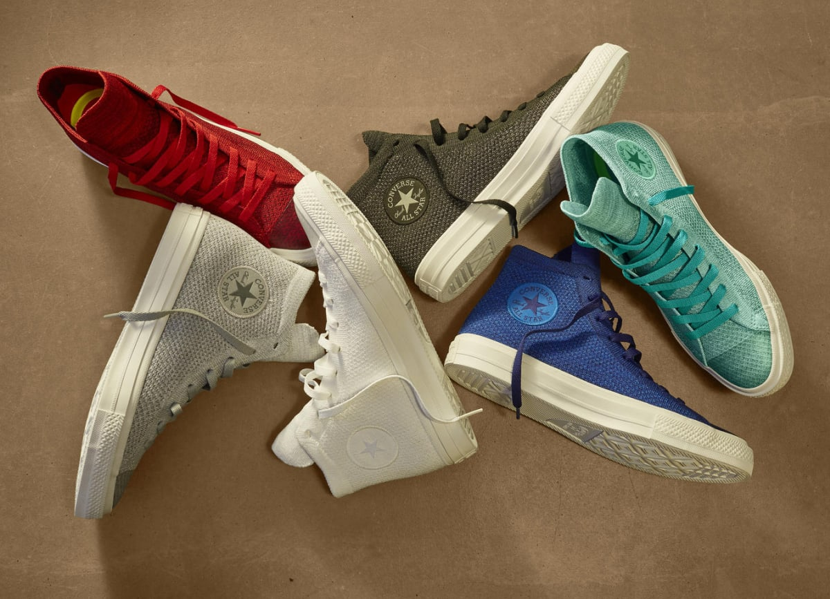 Converse Teams Up With Nike For New Flyknit Collection